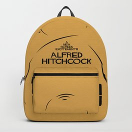 Psycho, Alfred Hitchcock, minimal movie poster, classic horror film, american cinema, thriller Backpack