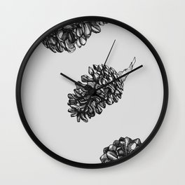 The smell of pine Wall Clock