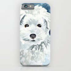 Bichon Frise Watercolor Slim Case iPhone 6s