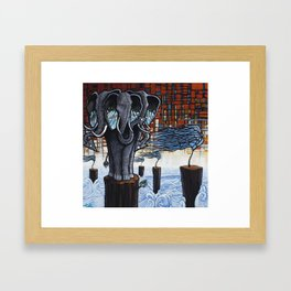 Realized Realities Framed Art Print