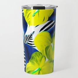 Anthurium yellow Travel Mug