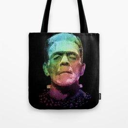frankenstein - pop art Tote Bag