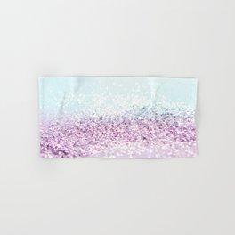 Mermaid Girls Glitter #1 #shiny #pastel #decor #art #society6 Hand & Bath Towel