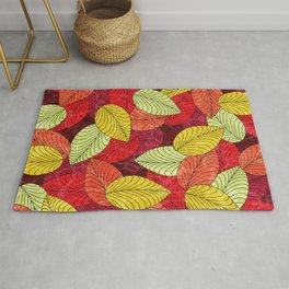 Let the Leaves Fall #14 Rug