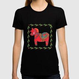 The Red Dala Horse T-shirt