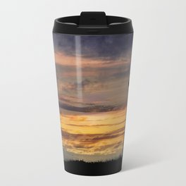 Newport Oregon - Setting Sun Travel Mug