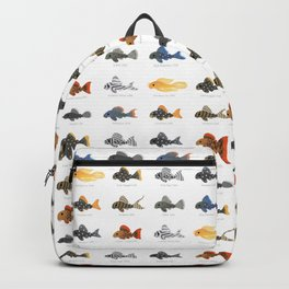 Pleco! - white Backpack