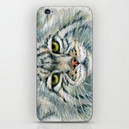 Pallas's cat 862 iPhone Skin