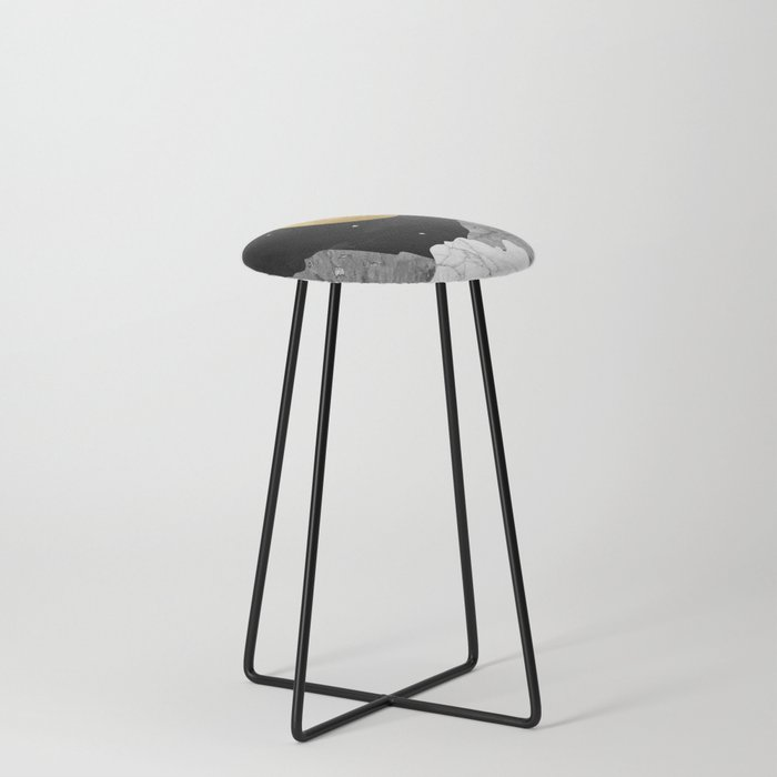 Moon and Stars Counter Stool