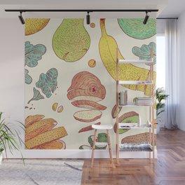 Fruit Free Fall (Square Ed.) Wall Mural
