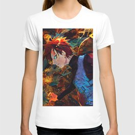 Guy of the Sand waterfall T-shirt