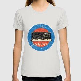 Vintage Japanese Analog Synth Retro Synthesizer Studio Gear design T-shirt