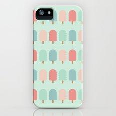 POPSICLES - BLUE iPhone (5, 5s) Slim Case