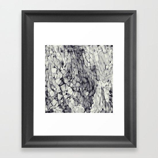 Swept Framed Art Print