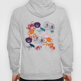 fall floral pink Hoody