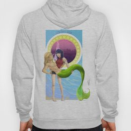 Two Waves Rising Hoody