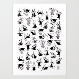 Odal Pattern Art Print
