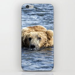 Brown Bear Cooling Off iPhone Skin