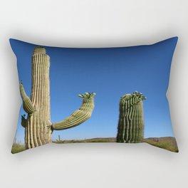 In The Sonoran Desert Rectangular Pillow