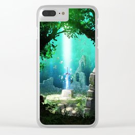 link Clear iPhone Case