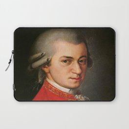 Barbara Krafft - portrait of Mozart Laptop Sleeve