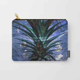 Silver Leaf Tropical Pineapple #buyart Carry-All Pouch
