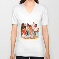 marauders V-neck T-shirts featuring Marauders' Era group picture by Miho