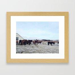 Group life Framed Art Print