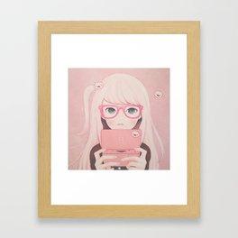 「Gamegirl Girl」  Framed Art Print