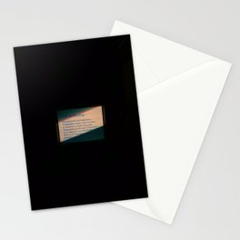 Left or Right Standing Stationery Cards
