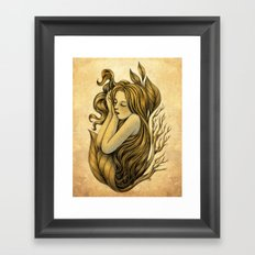 Little Rhizome Framed Art Print