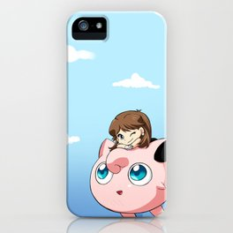 Jigly-Blu iPhone Case