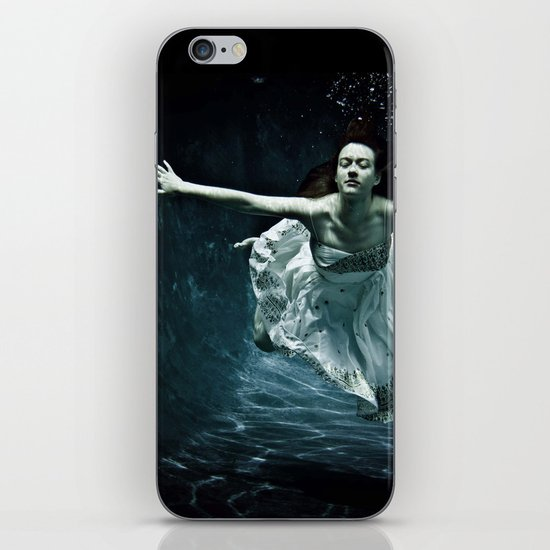 abyss of the disheartened : girl I iPhone & iPod Skin