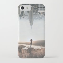 Between Earth & City iPhone Case