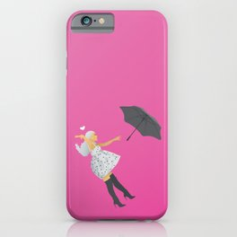 No Tears Left To Cry Ariana - Pink iPhone Case