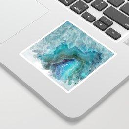 Blue Aqua Agate Sticker