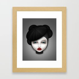 Misfit - McQueen Framed Art Print
