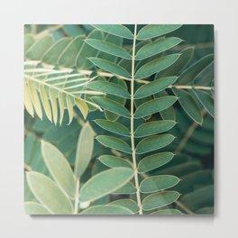 Layers Of Green #6 Metal Print