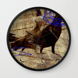 Crow's feet Wall Clock