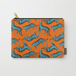 Tigers (Orange and Blue) Carry-All Pouch