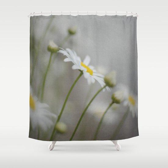 Daises  Shower Curtain