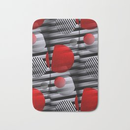3D - abstraction -38- Bath Mat