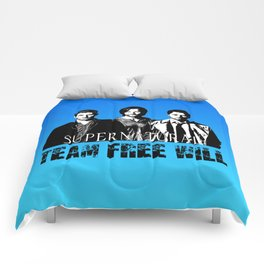 Supernatural Team Free Will W Comforters