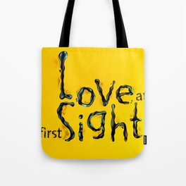 'Love At First Sight' Tote Bag