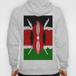 Extruded Flag of Kenya Hoody