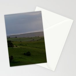 Rolling hills at the Wild Coast Stationery Cards