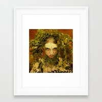 pagan Framed Art Prints featuring Pagan by Charlie Terrell