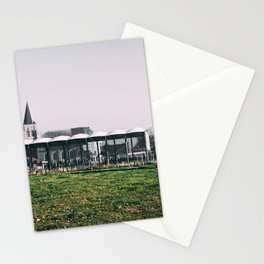Countryside architecture Stationery Cards