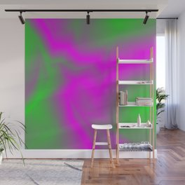 Blurry outlines of lightning with a swirling gap. Wall Mural