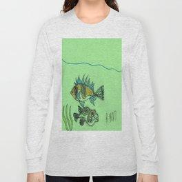 Foxface & Fugu Fish Long Sleeve T-shirt